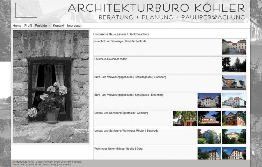 Architekturbüro Köhler - Architekturbüro in Stadtroda