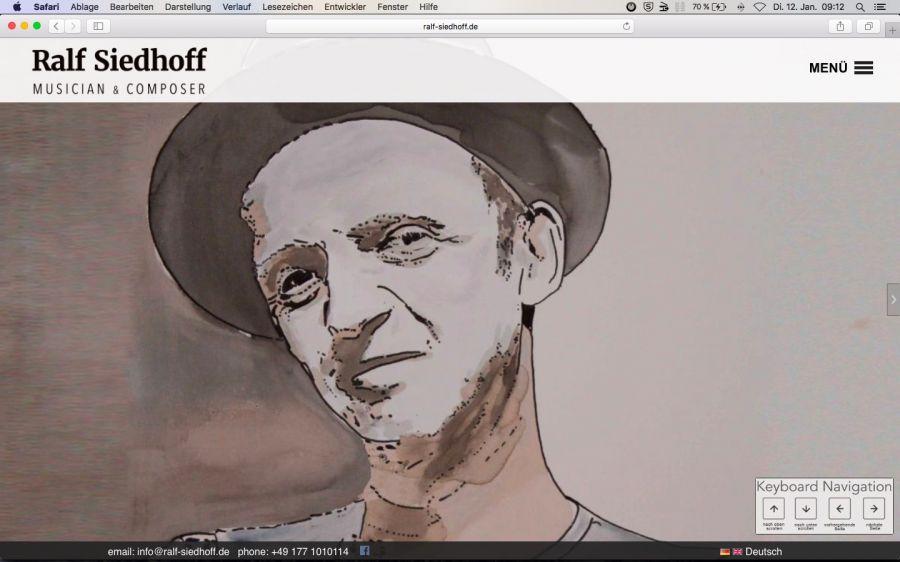 Ralf Siedhoff - Musiker und Komponist