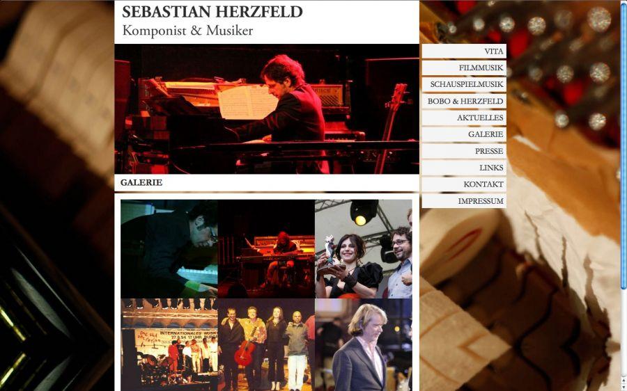 Sebastian Herzfeld - Komponist und Musiker