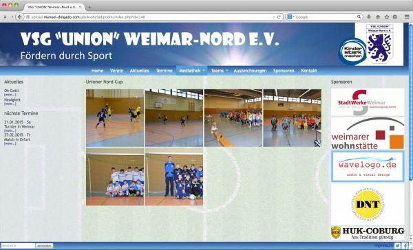 "VSG ""Union"" Weimar Nord e.V. - Fussballverein"